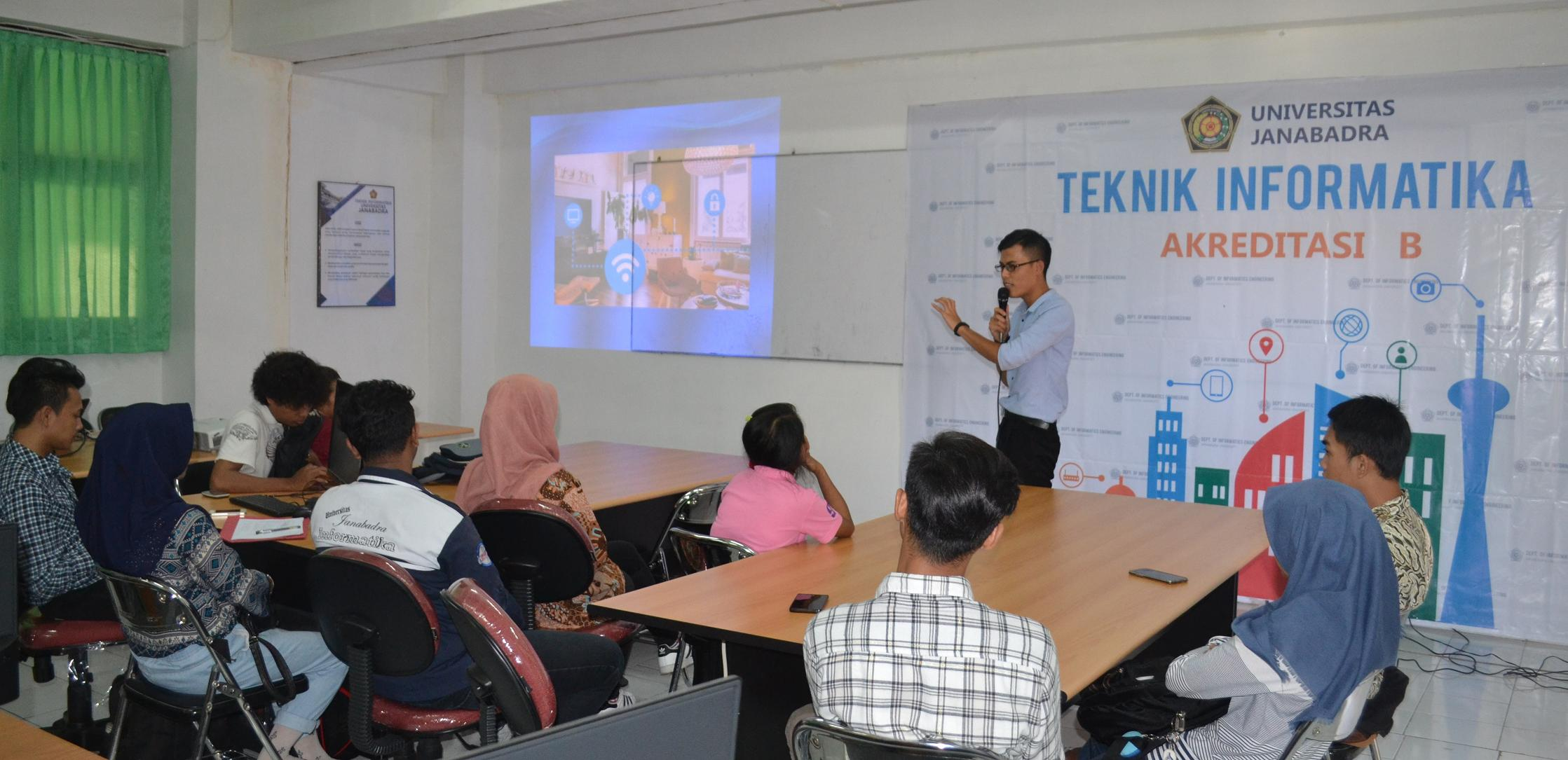 Kuliah Tamu dari Harbin Institute of Technology China di Prodi Teknik Informatika
