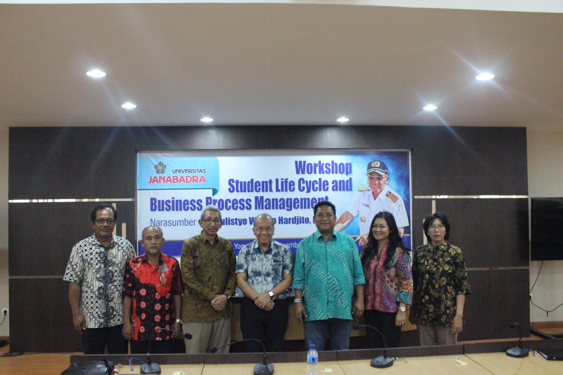 Workshop Student Life Cycle and Bussines Process Management